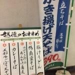 【蕎麦超人】浅草橋駅メトロ改札内越後そば【カレーも蕎麦であるっ!!】004玉目
