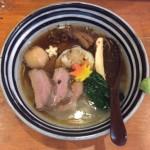 えにお日記番外編 麺場voyage4周年記念麺 特製治部煮中華そば